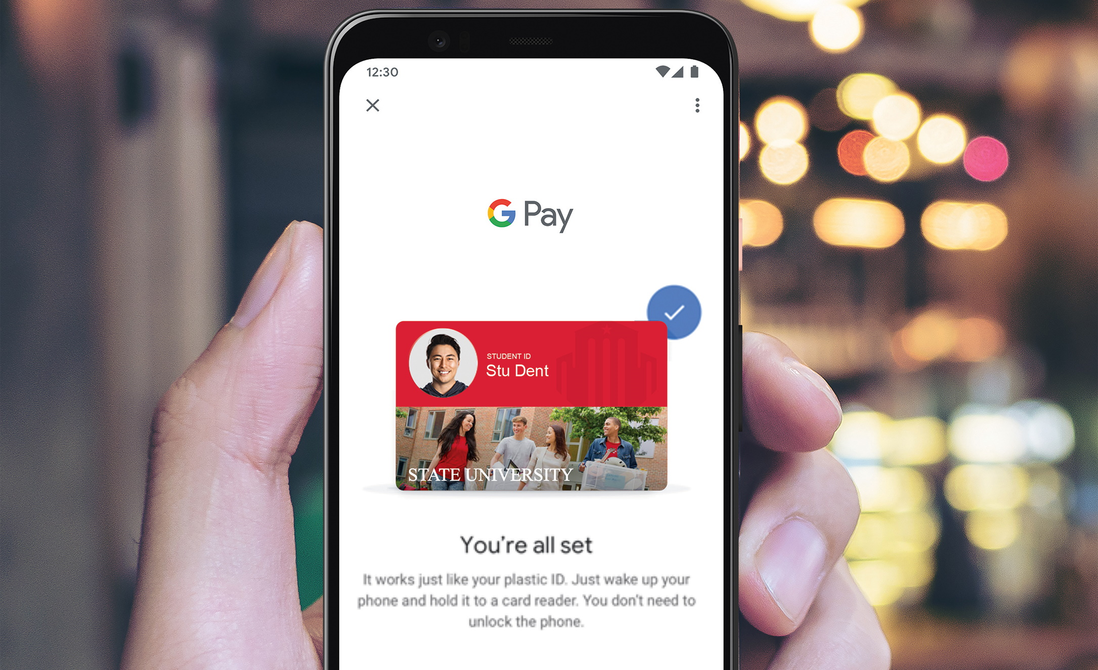 Mobile Credential for Google Pay Now Available